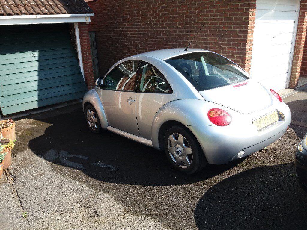 VW Beetle 2.0 petrol, silver,80k,2 owners.manual,10 months