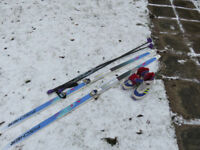 X Country Skis Good condition Size 6 /39 Fischers fish scale 190
