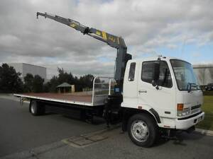 Mitsubishi Fighter 8 Crane Truck 8 Tonner Welshpool Canning Area Preview