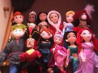Disney Plush Dolls