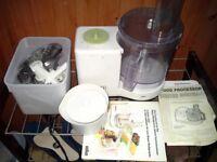 Braun multipractic deluxe food processor