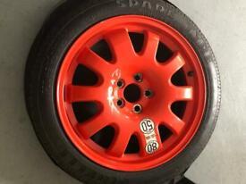 "18"" Jaguar/ Landrover space saver wheel"