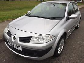 2006 RENAULT MEGANE DYNAMIQUE 1.4 PETROL 5 DOOR HATCHBACK LOW MILEAGES 12 MONTHS FULL MOT