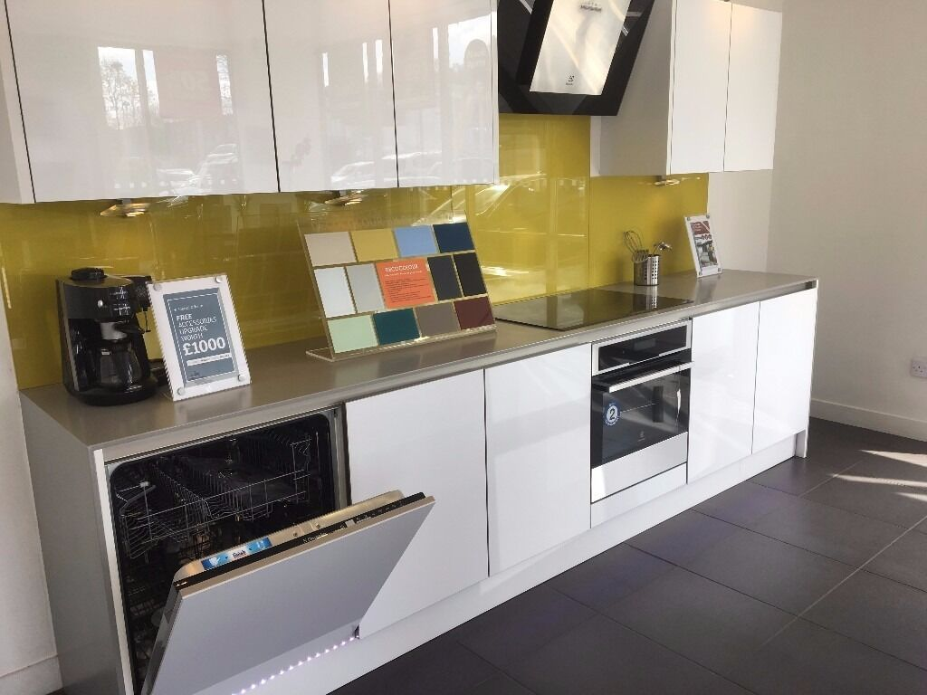 Magnet Kitchens Ex Display Integra Fusion White In