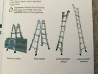 4 in one ladder system