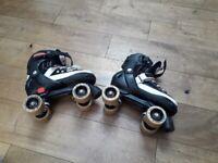 Kids adjustable quad roller skates size 3 to 6 for sale  Wimbledon, London