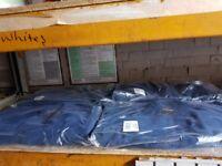 BARATEC WORKWEAR MOSSLEY FLEECE NAVY SIZE XL JOB LOT X 7 FLEECES