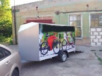 Standard Motorcycle (Trike, Snowmobile) Trailer with Body NEW