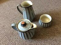 DENBY STUDIO STONEWARE : 1 X COFFEE / HOT WATER POT