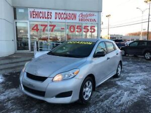 2010 Toyota Matrix Base, Automatique