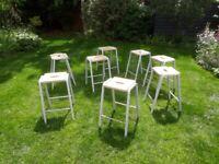 Vintage lab stools £35.00 each