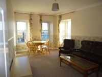 Double room in 2 bed furnished flat in city centre . Non-smokers.