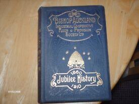 Jubilee history of Bishop Auckland Co-op
