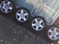 VW T5 TRANSPORTER 17 INCH SOLACE ALLOY WHEELS