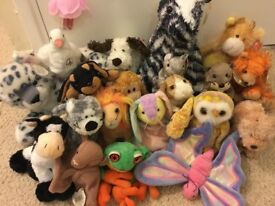 ORIGINAL 1990's BEANIE BABIES with TAGS