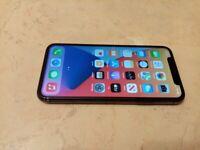 IPhone X 64gb unlocked new battery 100 %capacity