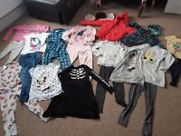 Ideal perfect condition bundle clothes for girl new coat 8-10 years