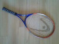 Junior tennis racquet by HEAD