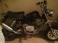 Monkey bike 125cc on road with mot not gilera zip cg Aprilia ts Kmx dtr 172