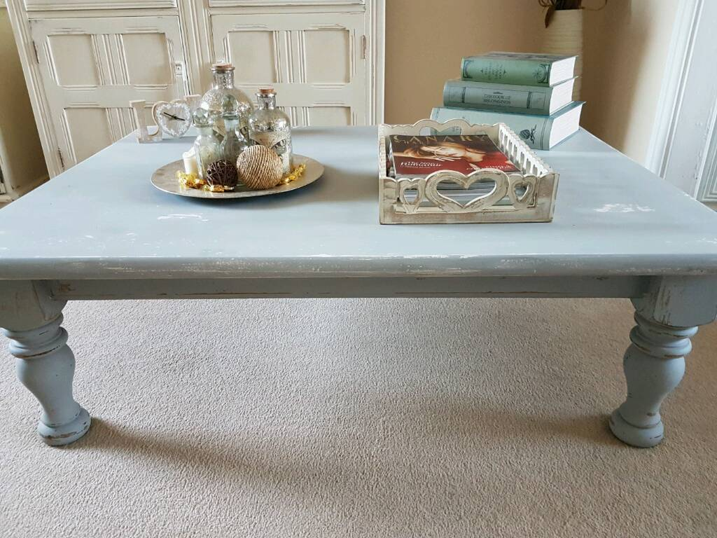 Shabby chic coffee table in skewen neath port talbot gumtree - Table basse shabby chic ...