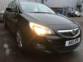 Vauxhall Astra 1.7 CDTI SRI Manual Diesel 2011 - Low Running costs (Tax/MPG/Insurance)