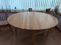 Ercol Folding Dining Table