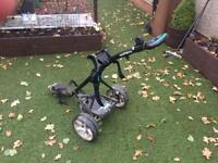 Hillbilly all terrain golf trolley with 36 hole Lithium battery