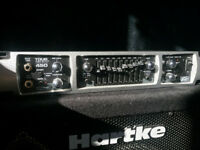 Hartke & Peavey head/cab set: tour series 450, VX115, VX210 Can Deliver