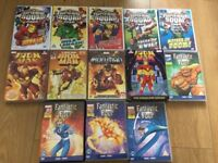Various kids superhero dvds