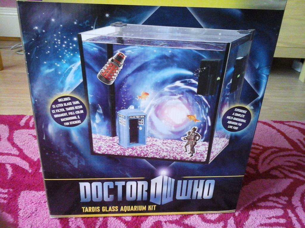 Doctor who fish tank in poole dorset gumtree for Doctor fish for sale