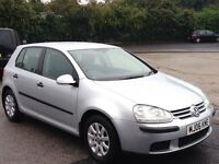 V.W GOLF 1.9 TDI SE DIESEL,HPI CLEAR,1 OWNER,CRUISE CONTROL,2 KEYS,FULL SERVICE HISTORY,ALLOYS,A/C