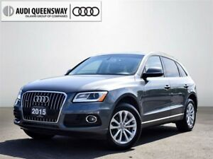 2015 Audi Q5 2.0T Progressiv, Panoramic Sunroof, Clean Carproof