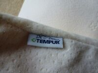 Tempur pillows brand new. A pair. Memory foam, washable removable covers.
