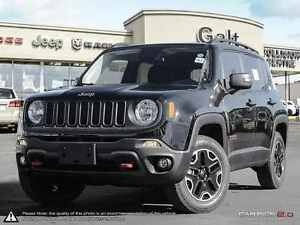 2016 Jeep Renegade TRAILHAWK | 4X4 | DEMO | 6.5 TOUCH |