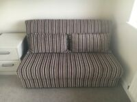 New double sofa bed never used