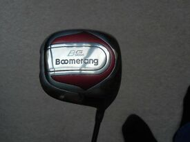 Driver and two Hybrids. Brand new with head covers.