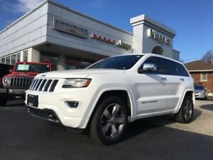 2014 Jeep Grand Cherokee OVERLAND,DVD,SUNROOF,ALLOYS,LOADED!