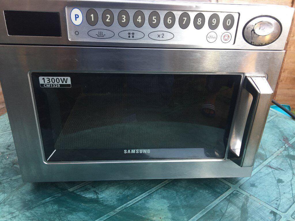 Heavy Duty Microwaves Samsung 1300w Heavy Duty Commercial Microwave Cm1329 In Ilford