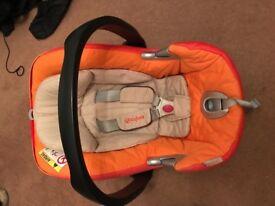 Cybex Aton Q autumn gold car seat