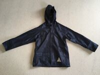 Childrens navy Waterproof Jacket and Trousers AGE 5-6