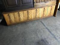Long Cabinet with Storage