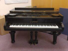 J. Becker Half Grand Piano Serial 34043