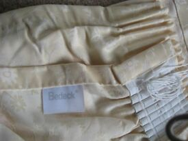 Bedeck Yellow Curtains