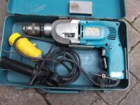 Makita HP2010N 110V electric drill, boxed, good condition