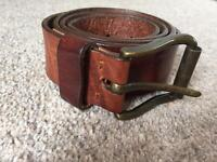 Next Italian leather belt M