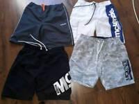4 pairs medium mens swimshorts