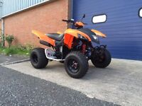 2015 QUADZILLA 400 XS SPORT - ROAD LEGAL QUAD BIKE - NEARLY NEW - FULL HISTORY - YAMAHA RAPTOR KTM