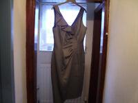 Ladies Cocktail Dress - As New - Debenhams Size Petite 12
