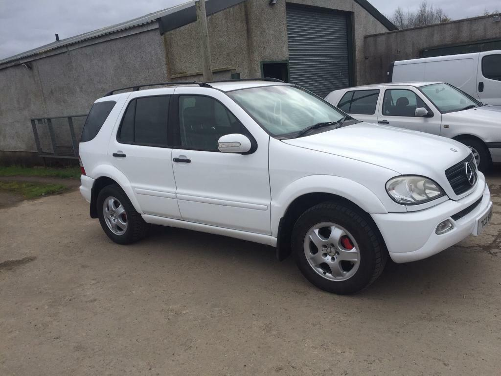 ml 270 mercedes white jeep 7 seater ml270 in coleraine county londonderry gumtree. Black Bedroom Furniture Sets. Home Design Ideas