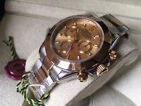 New Swiss Rolex Daytona Eta 7750 Automatic Watch 2tone